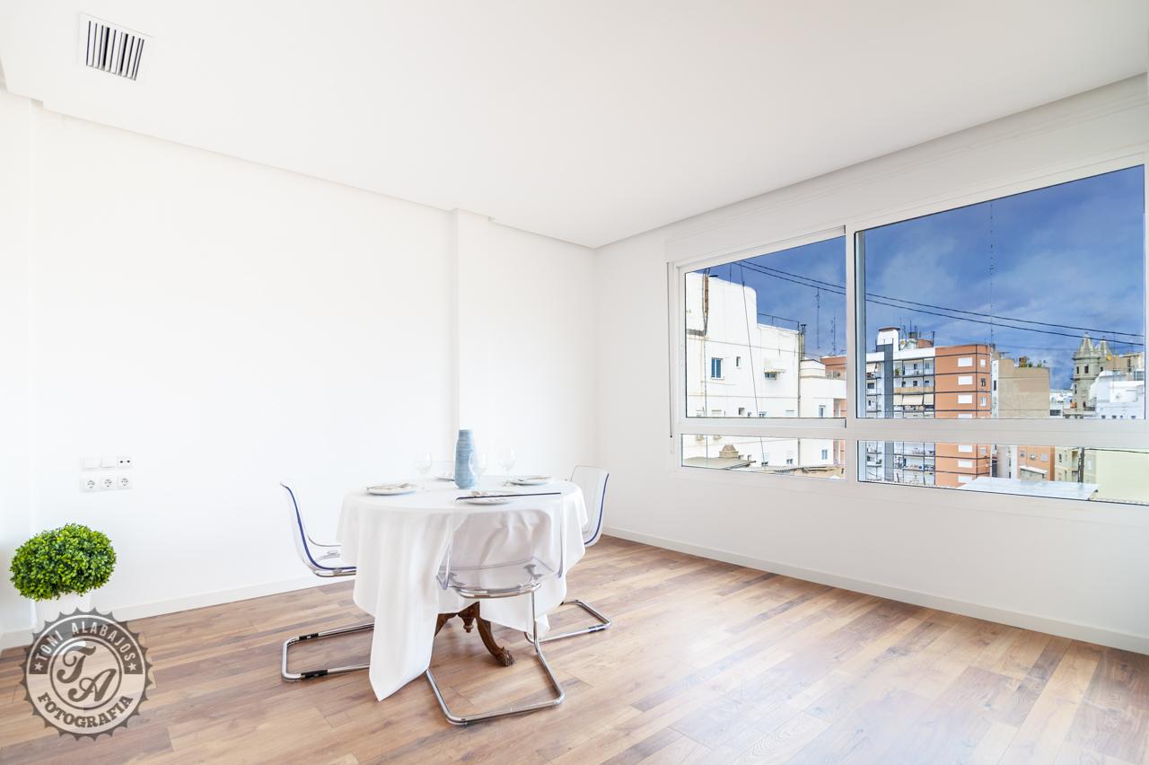Fotografía de arquitectura e interiores para inmobiliarias en Valencia