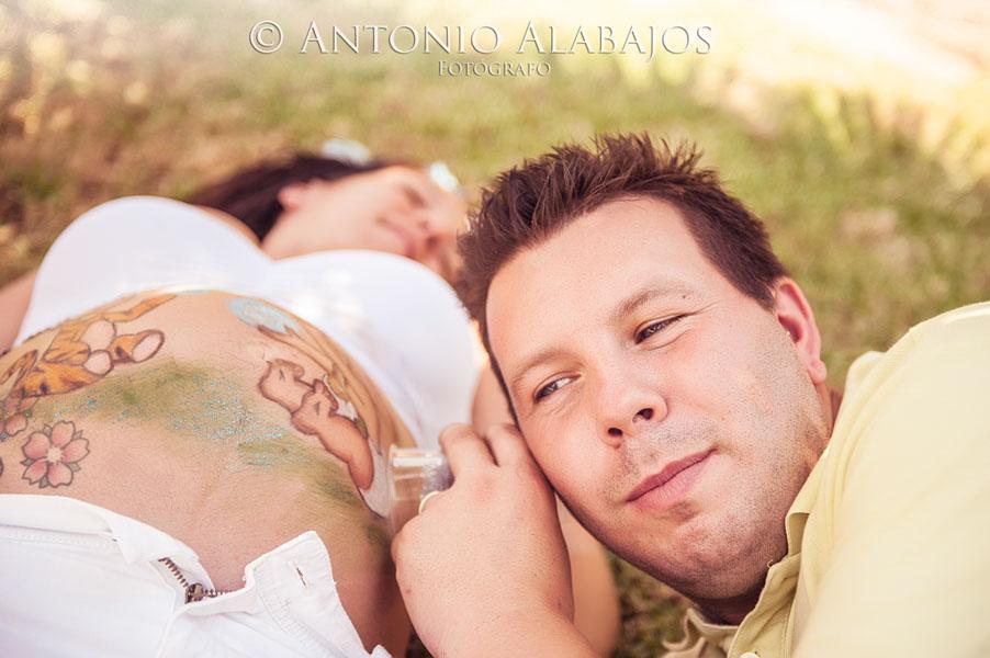 Reportaje de embarazo Amparo y Pascual 8