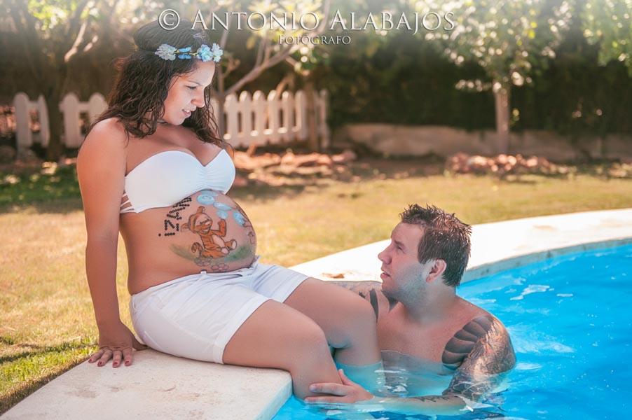 Reportaje de embarazo Amparo y Pascual 10