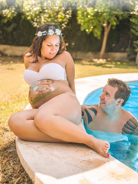 Reportaje de embarazo Amparo y Pascual 13