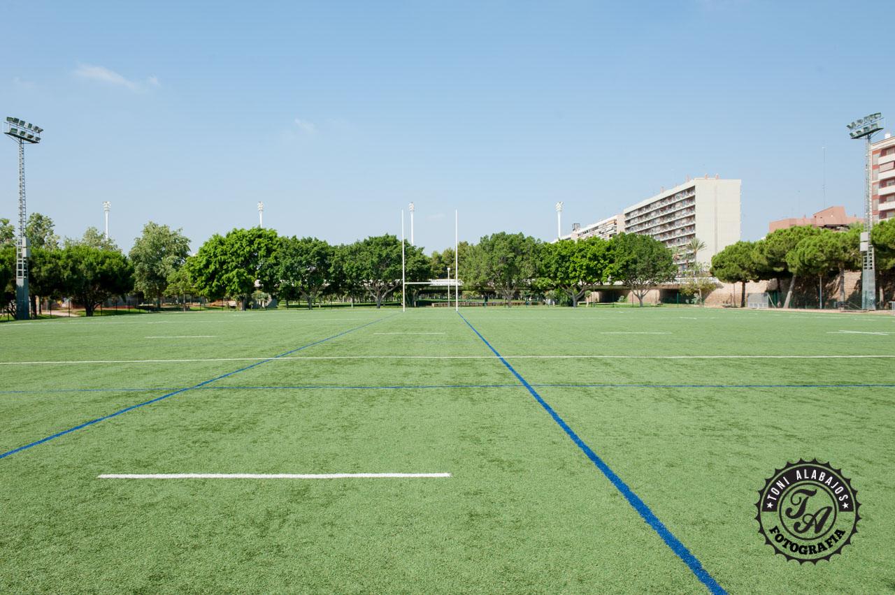 Fotografía en Valencia campo de Rugby cauce del Turia 10