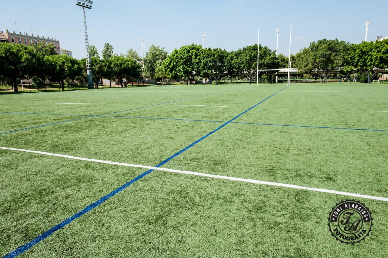 Fotografía en Valencia campo de Rugby cauce del Turia 9