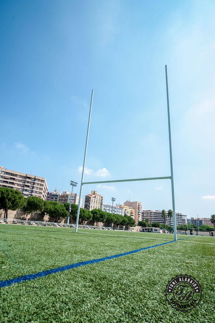 Fotografía en Valencia campo de Rugby cauce del Turia 3