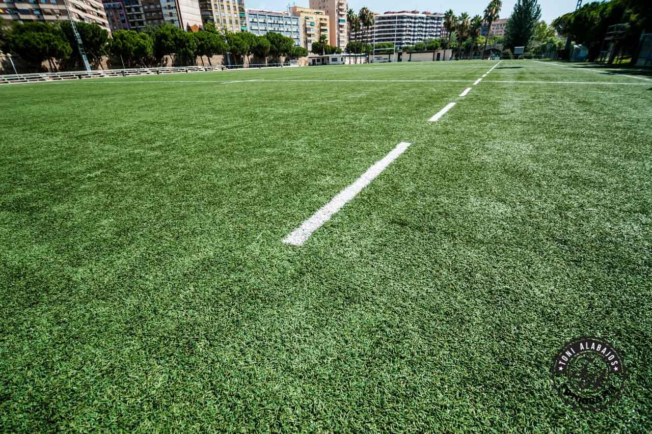 Fotografía en Valencia campo de Rugby cauce del Turia