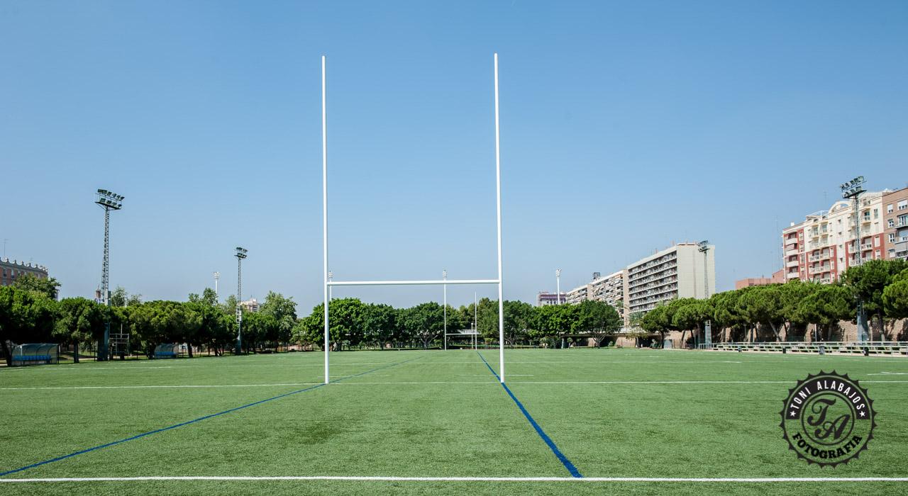 Fotografía en Valencia campo de Rugby cauce del Turia 1