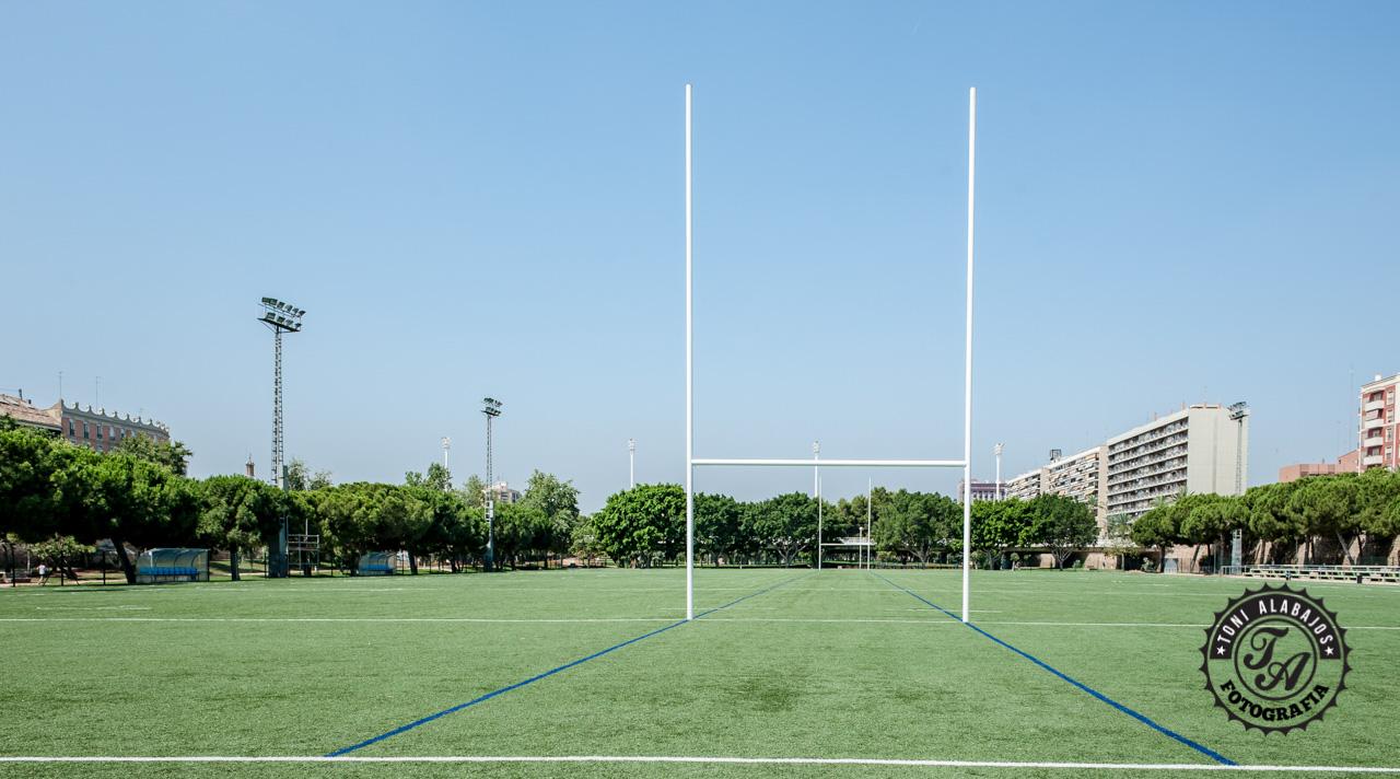 Fotografía en Valencia campo de Rugby cauce del Turia 0