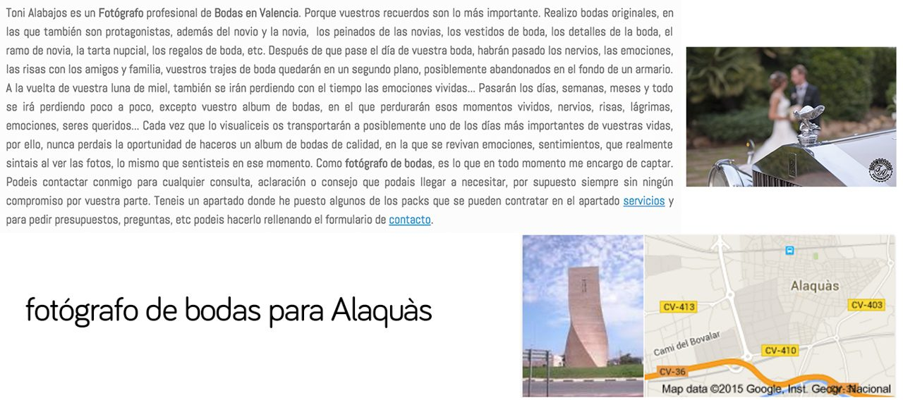 Fotógrafo Alaquás