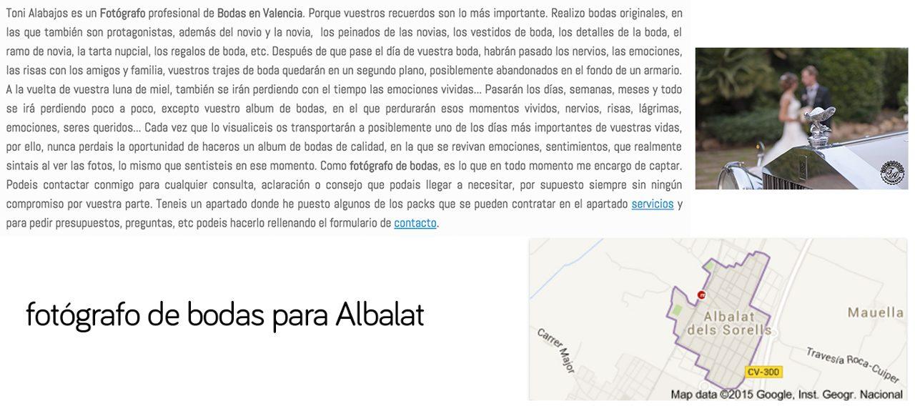 fotógrafo albalat