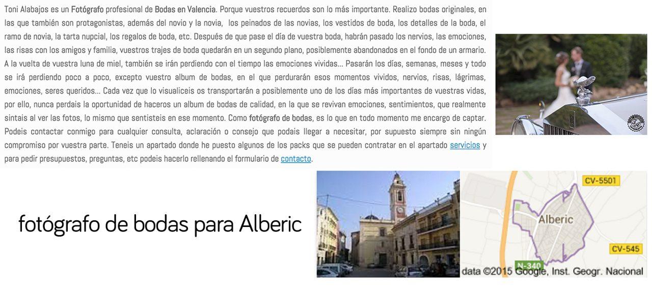 Fotógrafo Alberic