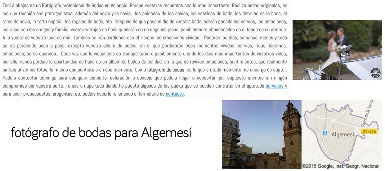 Fotógrafo Algemesí