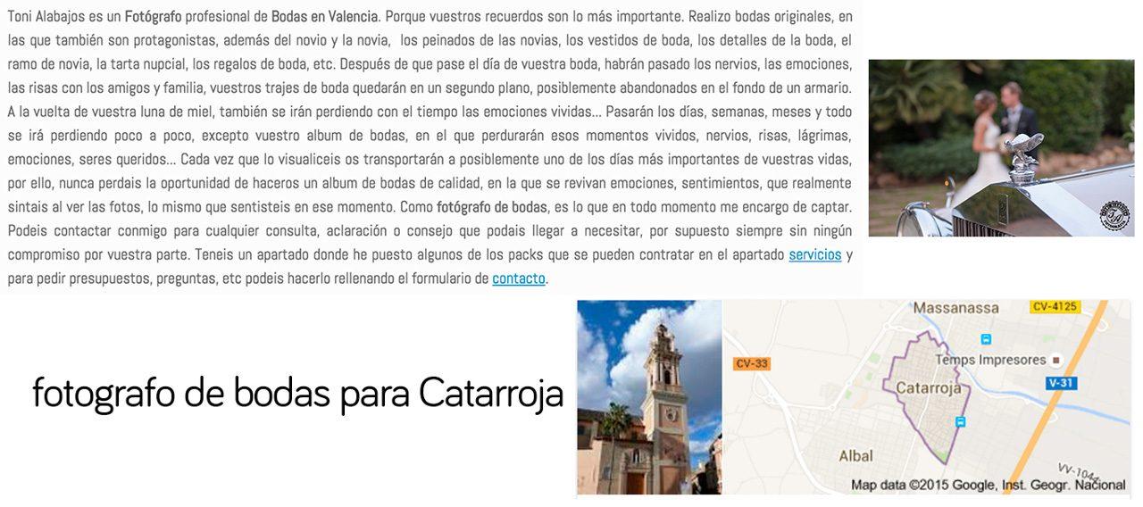 Fotógrafo Catarroja
