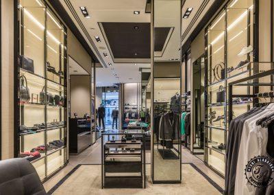 Fotografía de comercio en Valencia tienda Hugo Boss 6