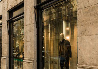 Fotografía de comercio en Valencia tienda Hugo Boss 25