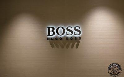 Fotografía de comercio en Valencia tienda Hugo Boss