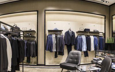 Fotografía de comercio en Valencia tienda Hugo Boss 21