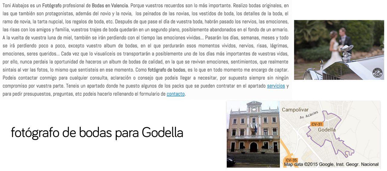 Fotógrafo Godella